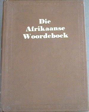 Woordeboek van die Afrikaanse Taal - Agtste: Hauptfleisch, D C