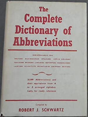 The Complete Dictionary of Abbreviations