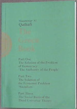 The Green Book: Al Qathafi, Muammar