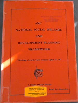 ANC - National Social Welfare and Development Plan -