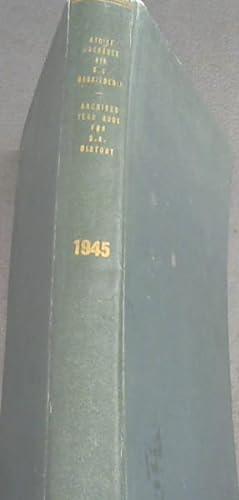 Argief-jaarboek vir Suid-Afrikaanse Geskiedenis 1945: Beyers, C. ;