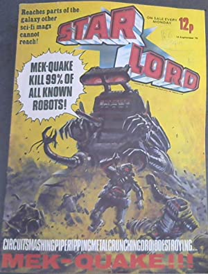 Star Lord - No 19 - 16 Sept 78