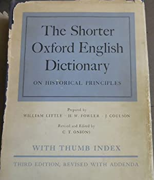 New English Dictionary on Historical Principles ...