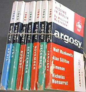 Argosy - Vol XXIII - 1962 - 7 issues