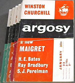 Argosy - Vol XXIV - 1963 - 6 issues