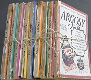 Argosy - Vol XVI - 1955 - 9 issues