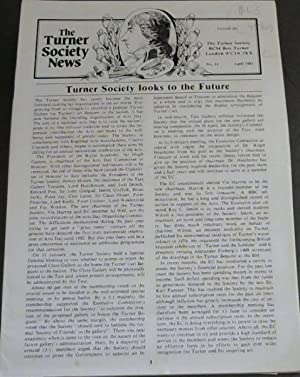The Turner Society News - No 21 - April 1981
