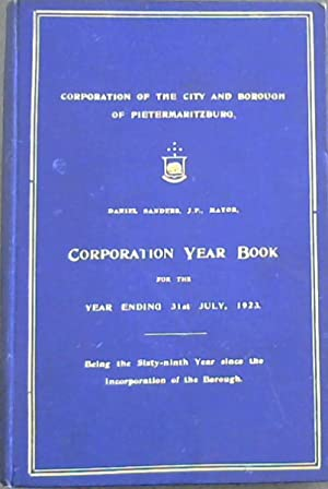 Corporation Year Book for the Year Ending 31st July, 1923: Being the Sixty-ninth Year since the I...
