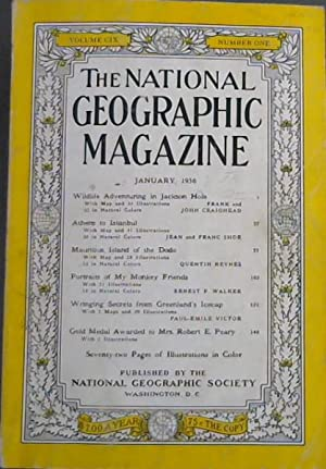 National Geographic Magazine : January, 1956 - Volume CIX - Number One