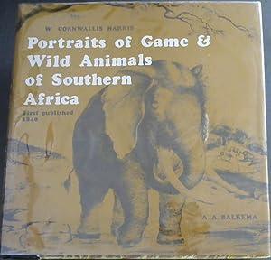 Portraits of the Game & Wild Animals: Harris, William Cornwallis