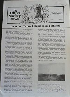The Turner Society News: No 18 July 1980