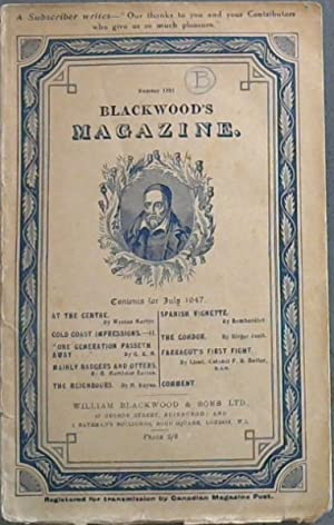 Blackwood's Magazine - July 1947 - No 1581