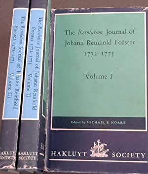 The Resolution Journal of Johann Reinhold Forster: Hoare, Michael E.