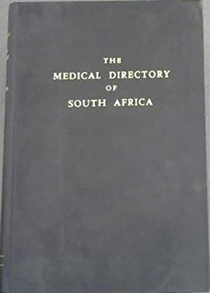 Medical Directory of South Africa 1960