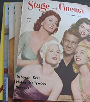 Stage and Cinema - 6 issues from 1959