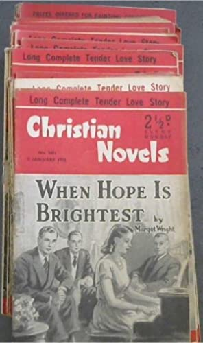 Christian Novels: 37 issues from 1953
