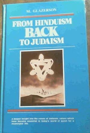 From Hinduism To Judaism: Glazerson, M.