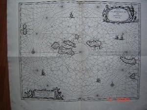 MAP : Insulae Flandricae olim Asores Dictae: Schenk, Petrum & Valk, Gerardum