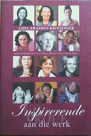 Inspirerende Vroue Aan Die Werk: Erasmus-Kritzinger, Lisel