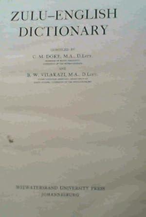 Zulu-English Dictionary: Doke, C. M & Vilakazi, B. W.