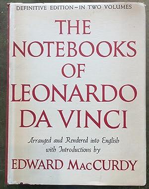 The Notebooks of Leonardo da Vinci: trans Edward MacCurdy