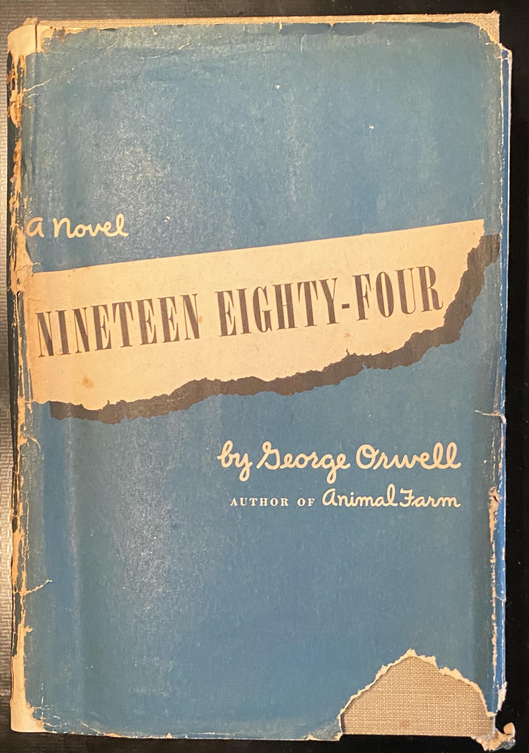 Orwell Harcourt 1984 Abebooks