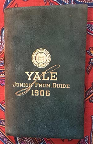 Yale junior Prom Guide 1906