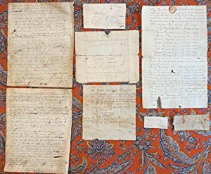 Early Quaker Manuscript Collection Abraham Reynolds Family Delaware and New York
