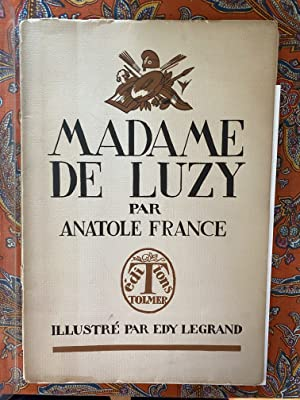 Madame de Luzy. Manuscrit du 15 Sept. 1792