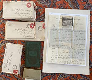 Group of Correspondence From Hudson River State Asylum, Pougkeepsie 1890-1910