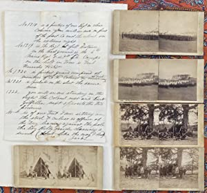 Very Rare Group of Annotated Civil War Photos