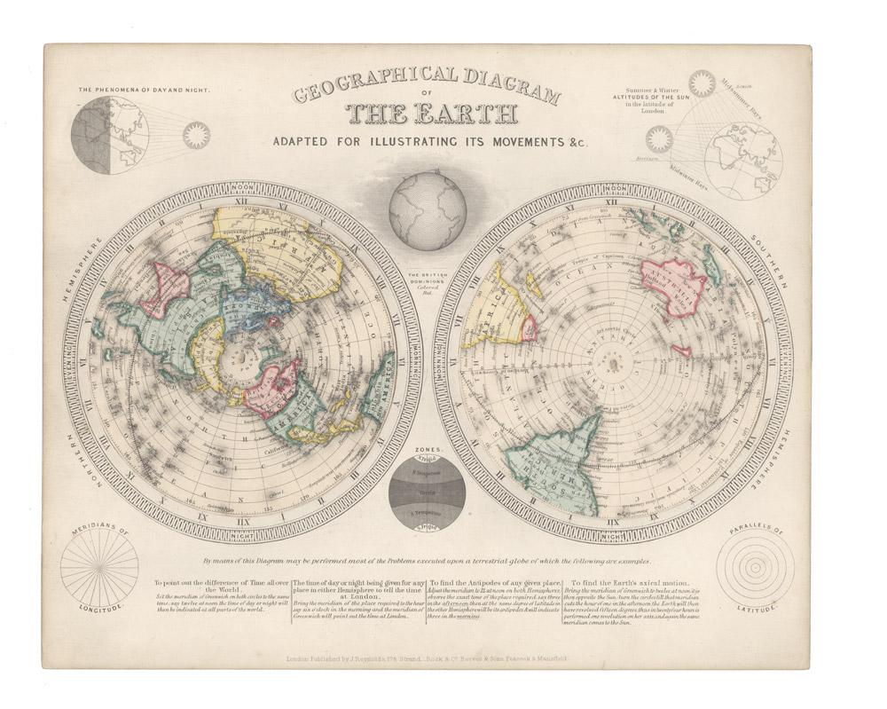 Geographical Diagrams: REYNOLDS, James and John EMSLIE