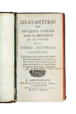 Les Avantures de Jacques Sadeur dans la: FOIGNY, Gabriel de