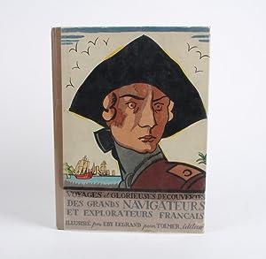 Voyages et glorieuses decouvertes des grands navigateurs et explorateurs Français: LEGRAND, ...