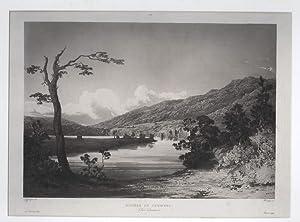 Rivière de Derwent (Van Diemen): LAPLACE VOYAGE] SAINSON,
