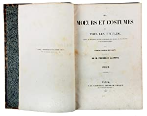 Les Moeurs et costumes de tous les: HENRICY, M. Casimir