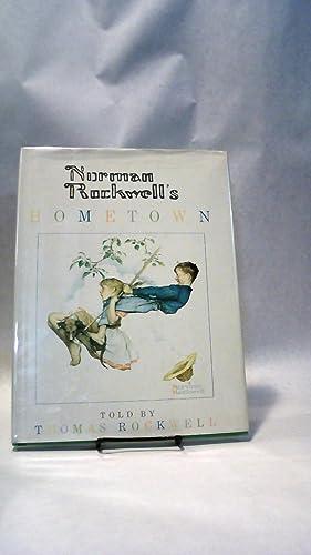 NORMAN ROCKWELL'S HOMETOWN.; ARTS, CHILDRENâ  S , CHILDREN: ROCKWELL, Norman, with Thomas ...