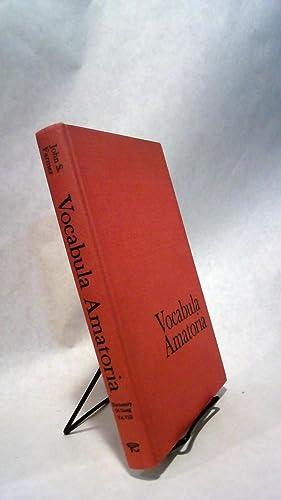 Vocabula Amatoria: A French-English Glossary of Words,: FARMER, John S.