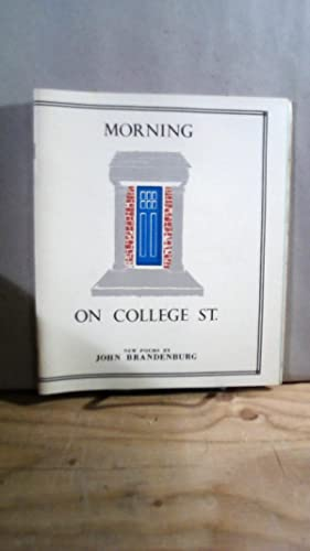 Morning on College St.: Duplicities