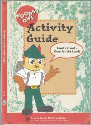 Woodsy Owl Activity Guide. Lend a Hand: Godsey, Pamela Program