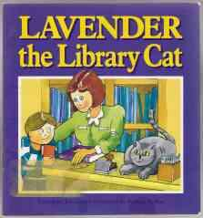 Lavendar the Library Cat: Cowley, Joy