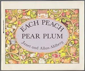 """Each Peach Pear Plum An """"I Spy"""": Ahlberg, Janet and"""