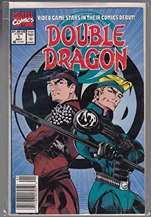 Double Dragon Video Game Stars in Their Comics Debut!