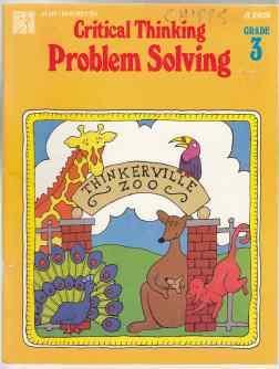 Critical Thinking Problem Solving Grade 3 Thinkerville: Hayes, Joy; Sebastian,