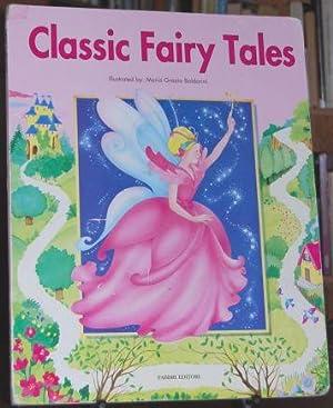 Classic Fairy Tales. 1st ED Easle-Sized Elephant: Perrault, Charles; Collodi