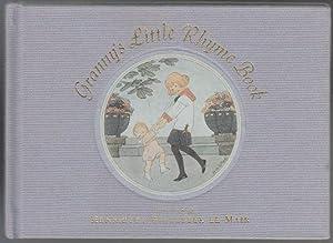 Granny's Little Rhyme Book. VG 1st ED HB: Le Mair, Henrietta Willebeek