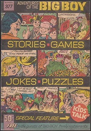 Adventures of The Big Boy Number 377 Jokes Games Puzzles Stories
