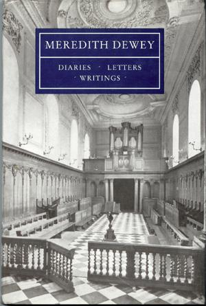 Meredith Dewey, Diaries, Letters, Wirtings: Grimston, A V;