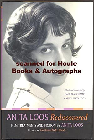 Anita Loos Rediscovered: Film Treatments and Fiction