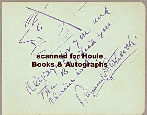 Autograph Quotation Signed